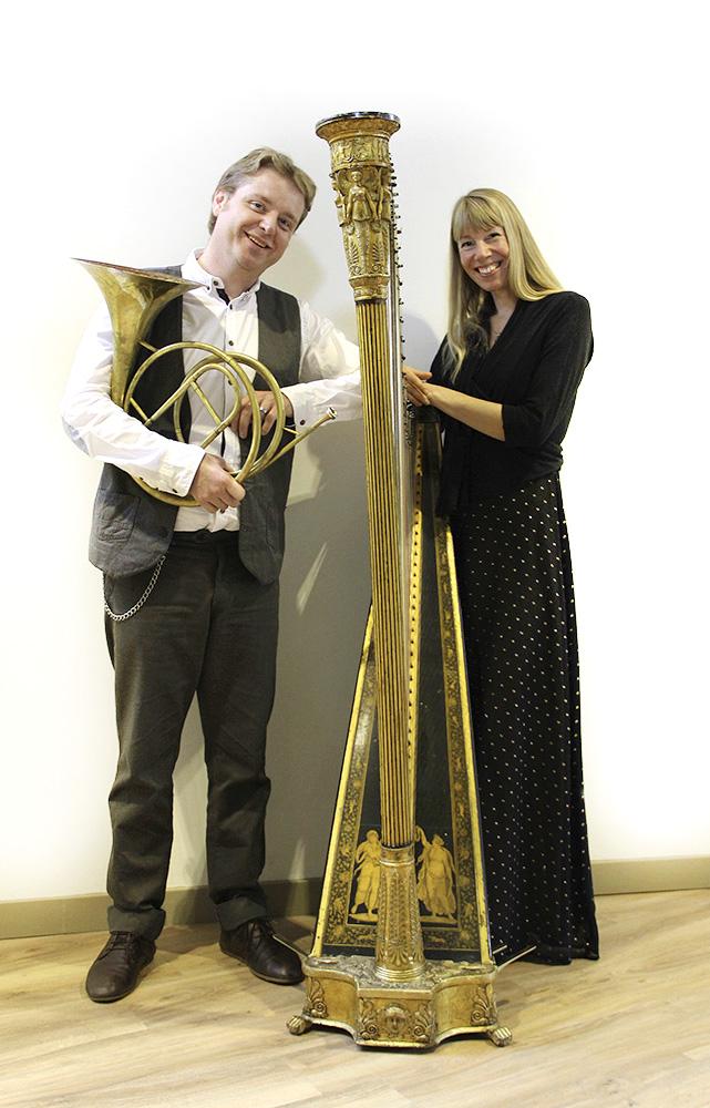 Hoorn-Harp